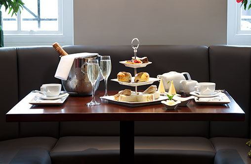 Luxurious afternoon tea